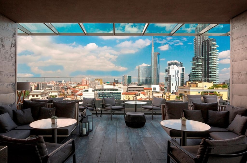 radio rooftop bar milano