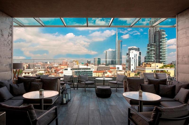 radio rooftop bar milano