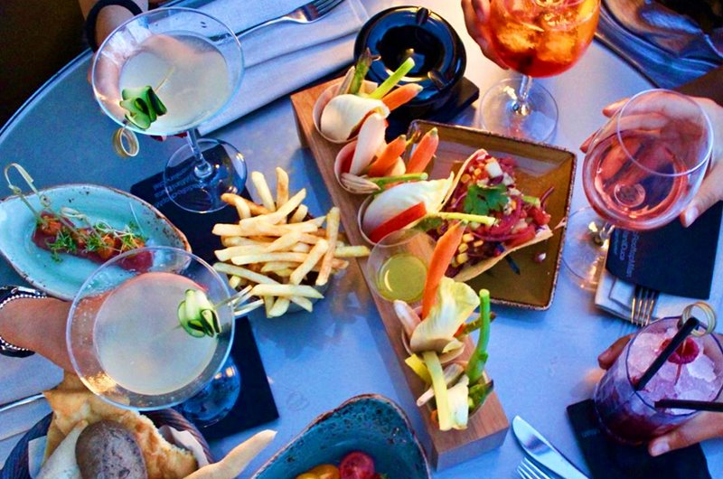 Radio Rooftop Bar Milano menu e prezzi - Milano Food Spirit