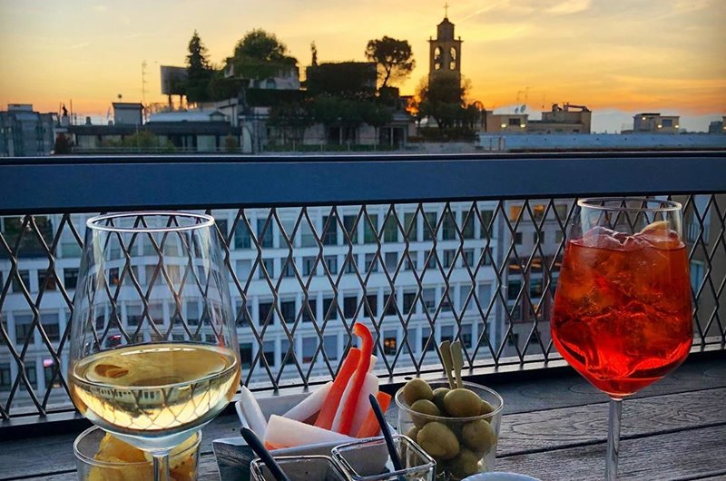 Terrazza 12 Milano Menu Con Vista Speciale Milano Food Spirit