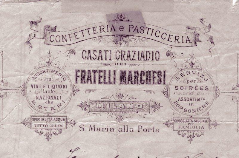 Pasticceria Marchesi 1824