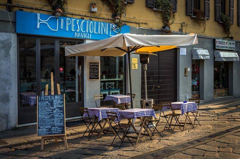 I Pesciolini Navigli Milano