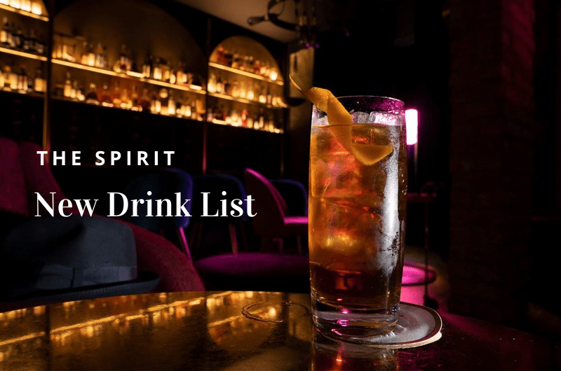 The Spirit Porta Romana Milano - Drink List