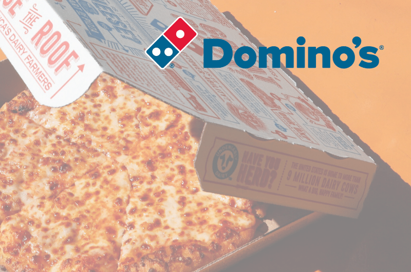 Dominos Pizza Milano Delivey