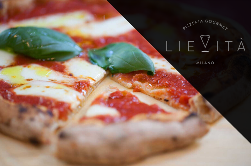 Lievita Milano menu pizza